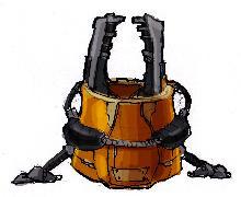 Эскиз оборудования Покорители космоса