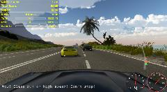 TheChase - racing, hood camera