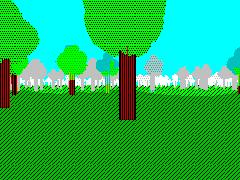 forest-2 - с туманом и блумом