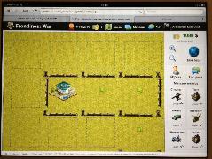 Первый вариант игры (на ipad2)