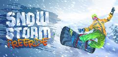Вышла Snowstorm:  Freeride.  Игра  от отечественных разработчиков .