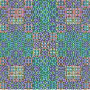 Пиксельный узор - Evolution