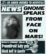 Гном на Марсе