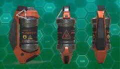 Sci - Fi hand grenade.
