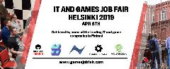 Ярмарка вакансий IT and Games Job Fair