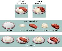Предметы еда
