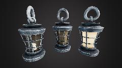 Stylized Oil Lamp