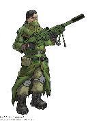 Концепт снайпера
