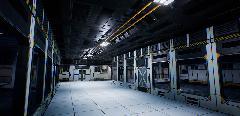 Фото подземной модульной лаборатории. Для сольного проекта.