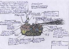 Патрульный корабль раннего Легиона
