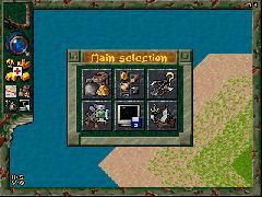 Settlers 2 под WM - игровое окно и плавающее