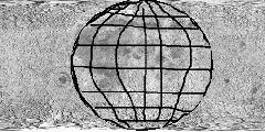 Пример 2д сетки планеты