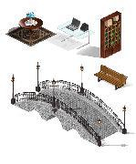 предметы окружения(порт)