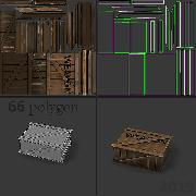 игровая модель ящик