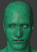 Ретопология персонажа (лицо)