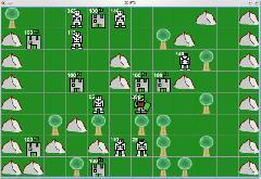 Скриншот клиента 2D RTS