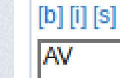 Arial AV test