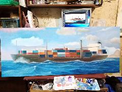 """контейнеровоз """"Marcommander"""" 03"""