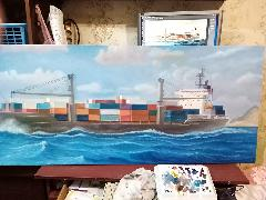 """контейнеровоз """"Marcommander"""" 04"""