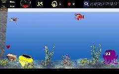 Скрин под водой