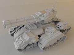 StarCraft2 Siege Tank