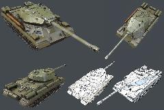 Tank IS-4M