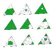 Тесселяция и последующее удаление треугольников
