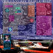 wonderland fantasy map M88 Alice Morphia Trix Icy XL
