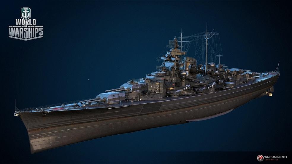Тирпиц | Стажировка 3D Art Wargaming Санкт-Петербург
