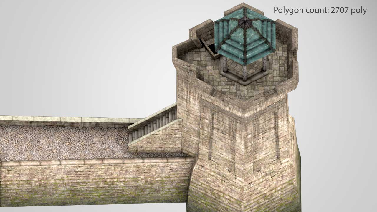 Tower_03_02_low | 3D Artist