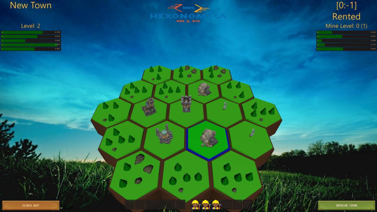 TownMap | Собираю команду. Online экономическая стратегия с элементами RPG (энтузиазм)