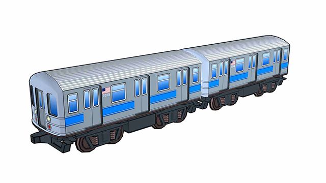 train | 3d моделлер
