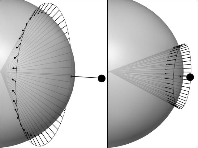 21445645 | Атмосфера: вид из космоса и с поверхности