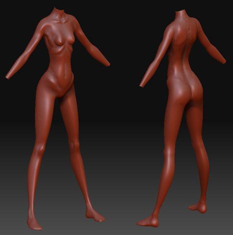 туловище2 | Sinman's models. (и остальное)