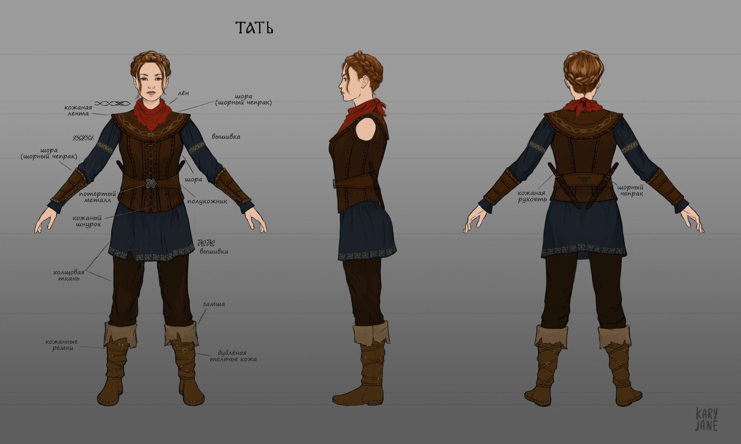 Тать (вор) | 3D художник, 3D аниматор