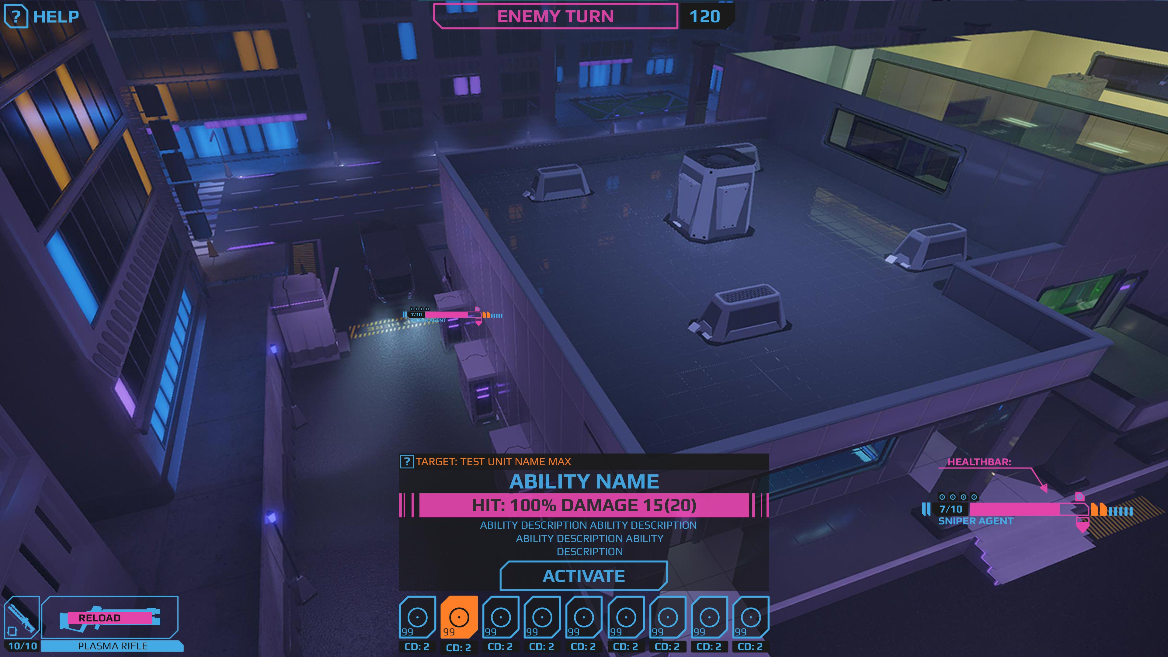 UI_HUD_useAbility | NEON ASSEMBLY. A competetive multiplayer turn based tactics game. [ Demo Finished. Билд в теме ]