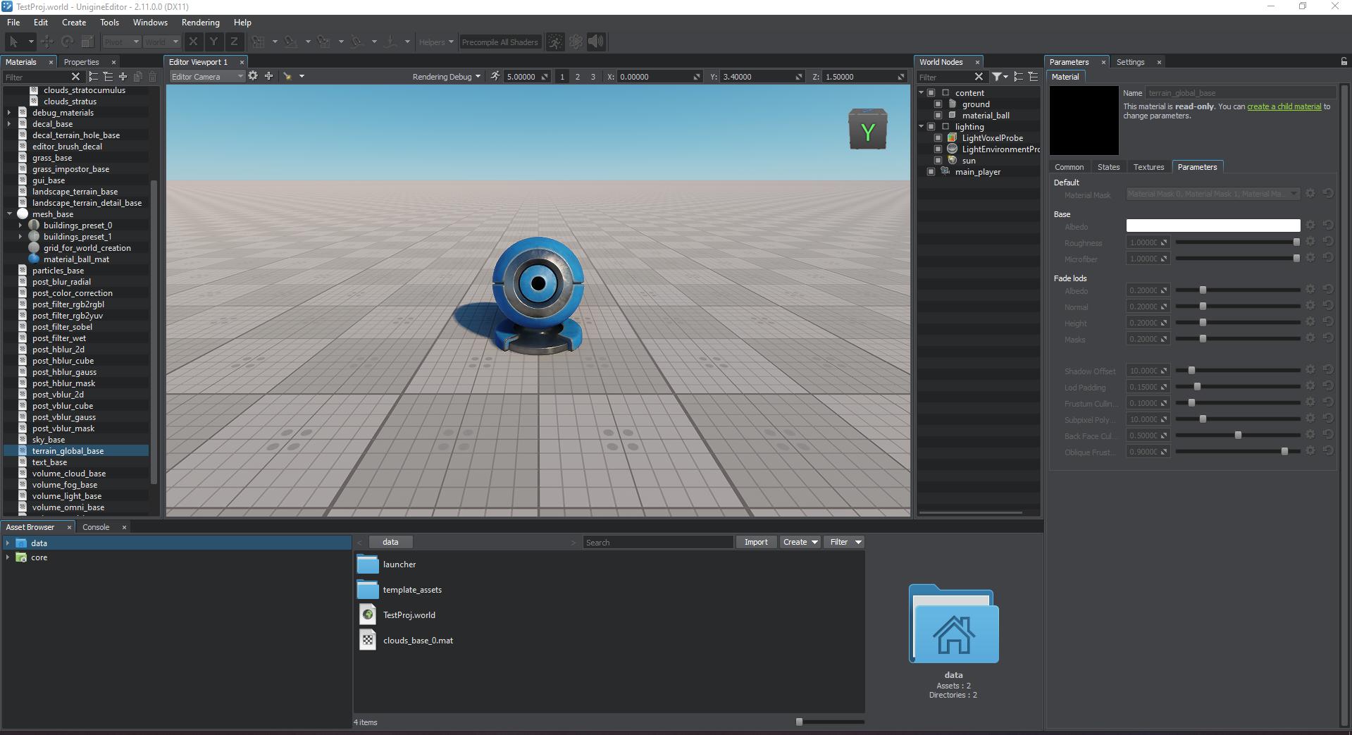 uniedit | 3D-движок UNIGINE доступен бесплатно в издании Community (комментарии)