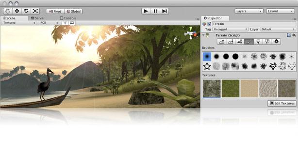 Редактор движка Unity3D | Unity (Unity3D)