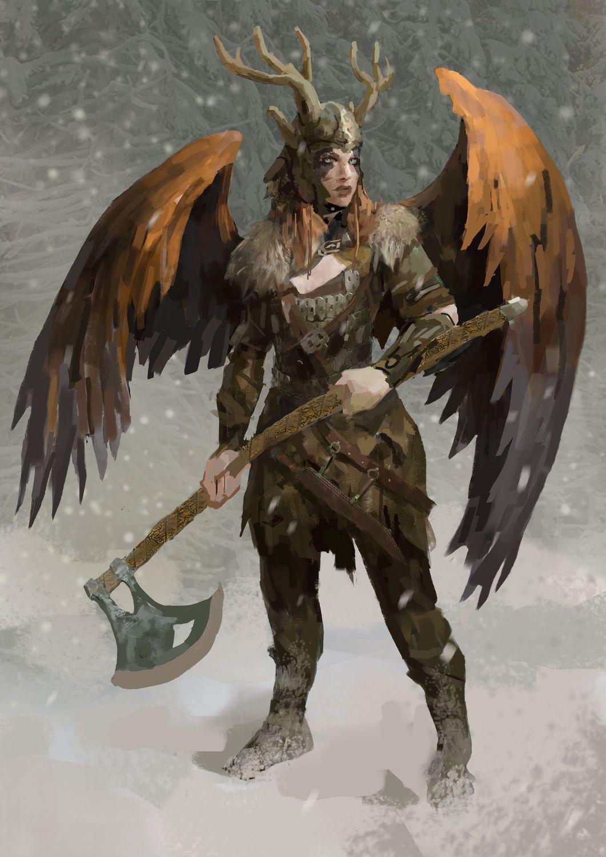 Valkyrie | 2d-художник