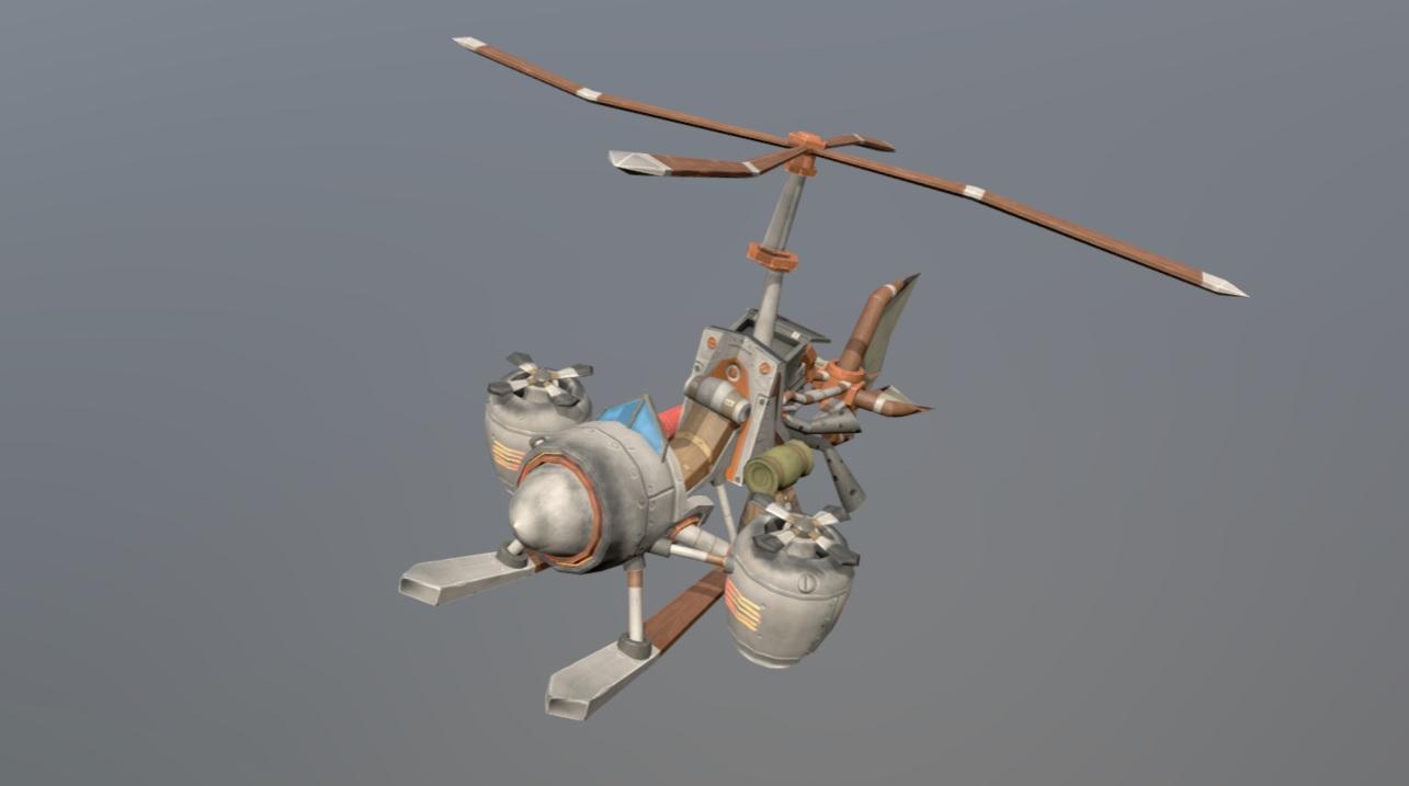 вертолет | 3D Artist