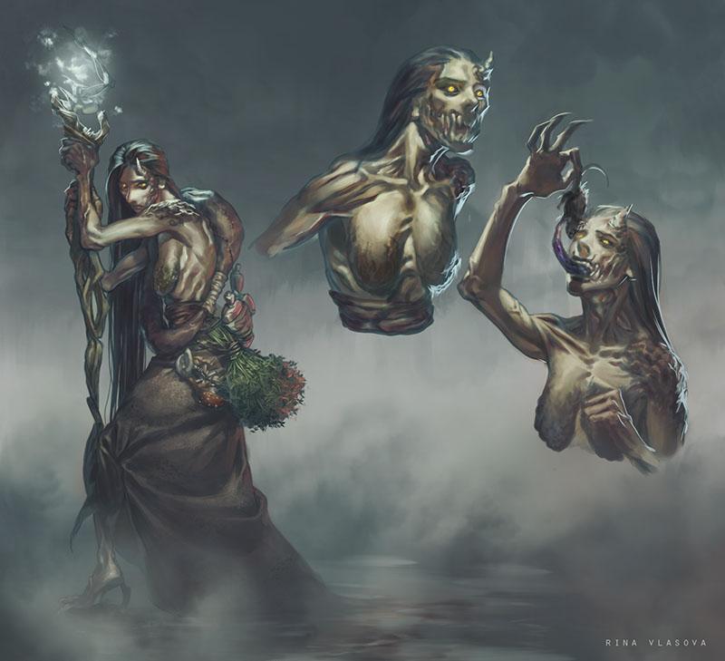 Болотная ведьма | 2D-художник / 2D-artist