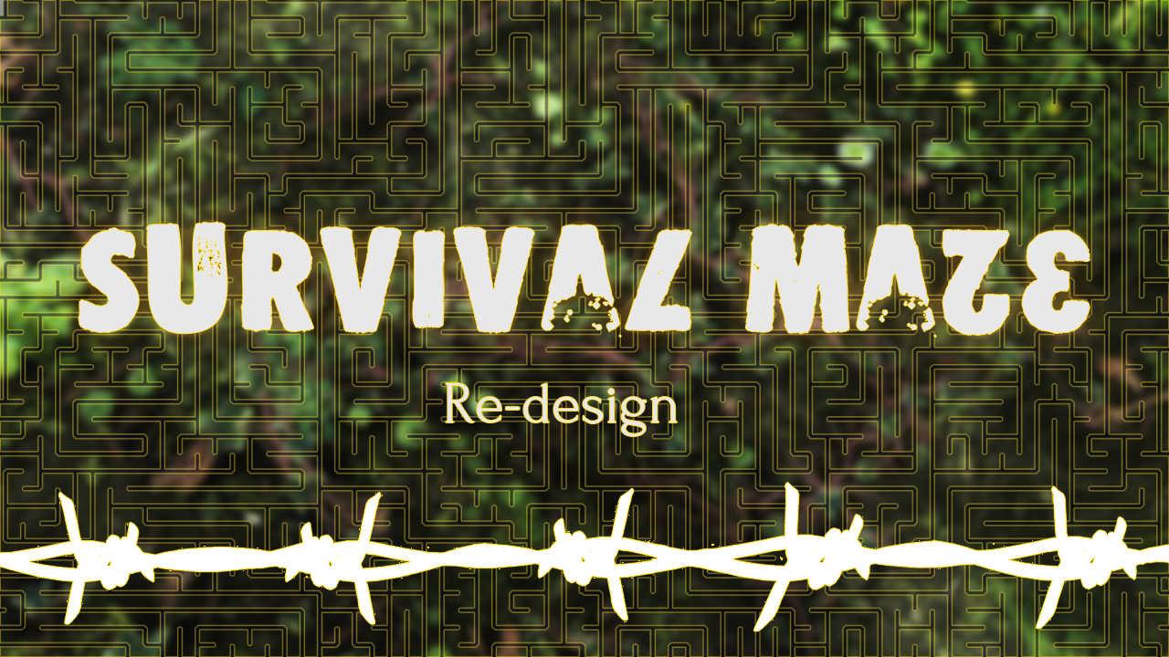 Vizual2 | Survival Maze: Redesign [на конкурс «Храм Хаоса»]