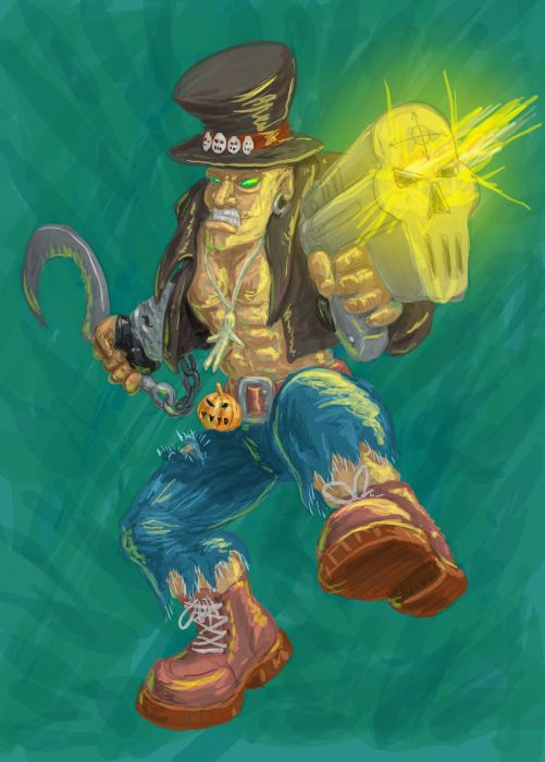 voodoo | Любой игровой арт: скетчи игровых объектов и персонажей, интрефейсы, беки и т.д. (примеры внутри)