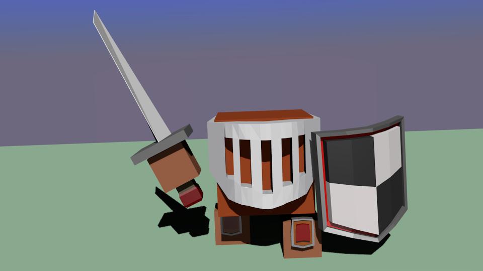 war-chit-mech | Простые модельки из нескольких кубиков