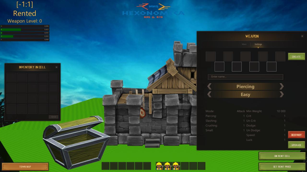WeapBld | Собираю команду. Online экономическая стратегия с элементами RPG (энтузиазм)