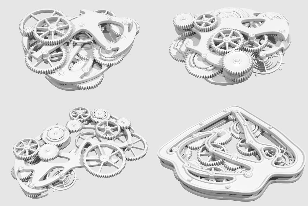 Генератор механизмов | Houdini technical artist / 3D modeller