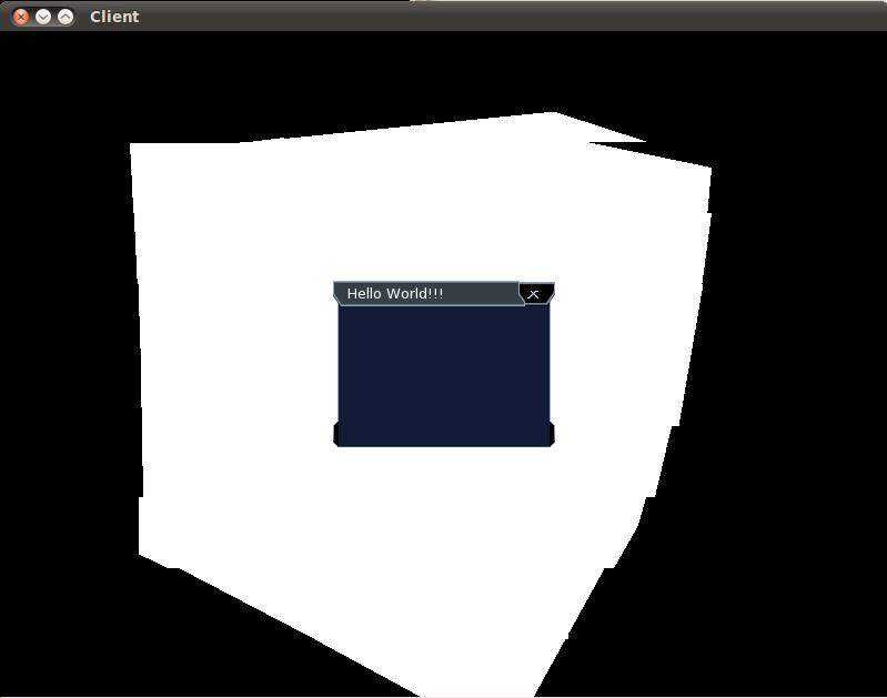 Linux(Ubuntu) + SFML + CEGUI Выводит текст через раз  / Общее