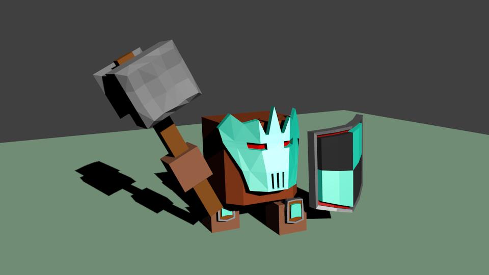Woin2 | Простые модельки из нескольких кубиков