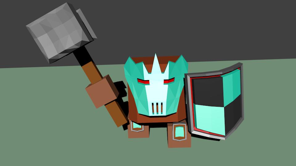 Woin3 | Простые модельки из нескольких кубиков