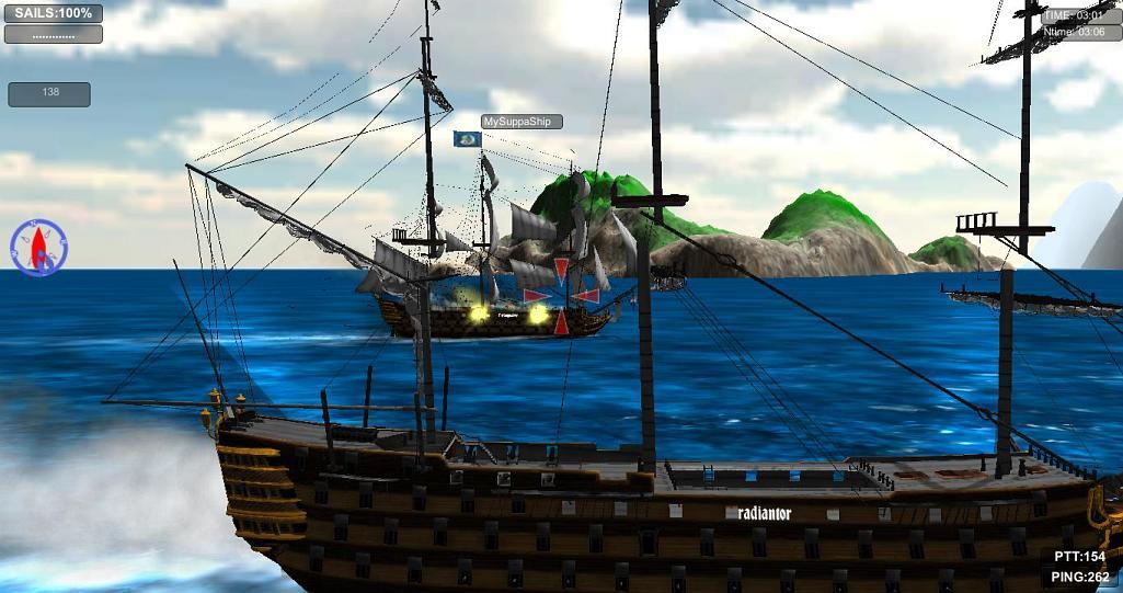 World of Sails (tech ALPHA) | World of Sails. Выстругано с любовью. (Скрины, траффик!)